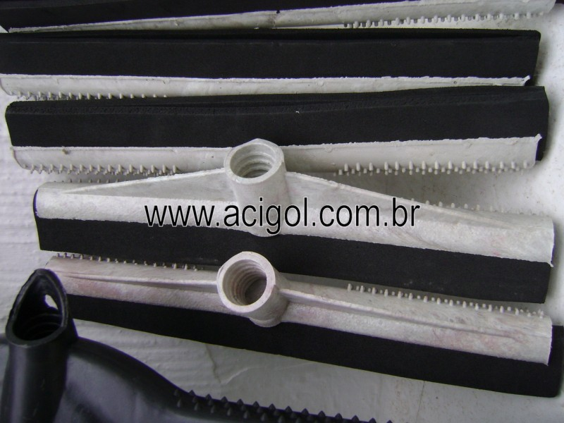 RODO PLASTICO 30 CM-BORRACHA DUPLA-FOTO ACIGOL 81 34451782-DSC09968