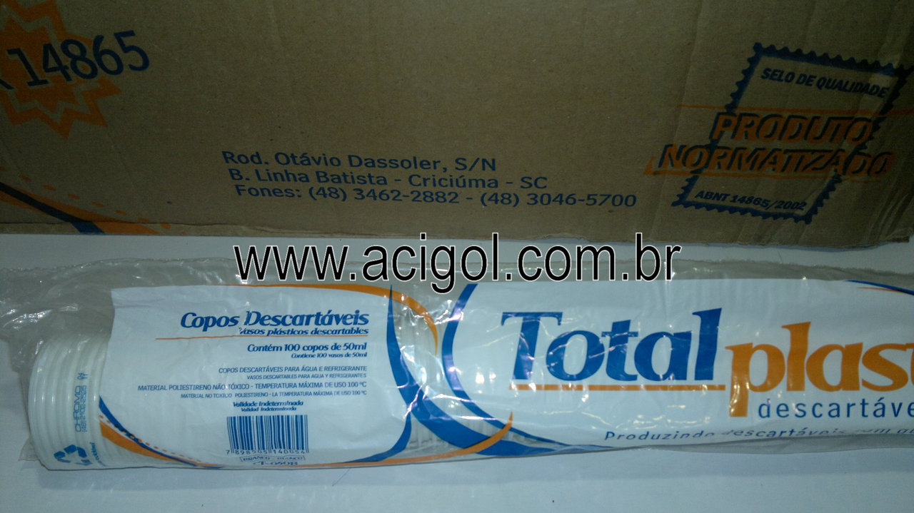 copo descartavel 50 ml  com 50x100 un-foto acigol 81 34451782-240120131239