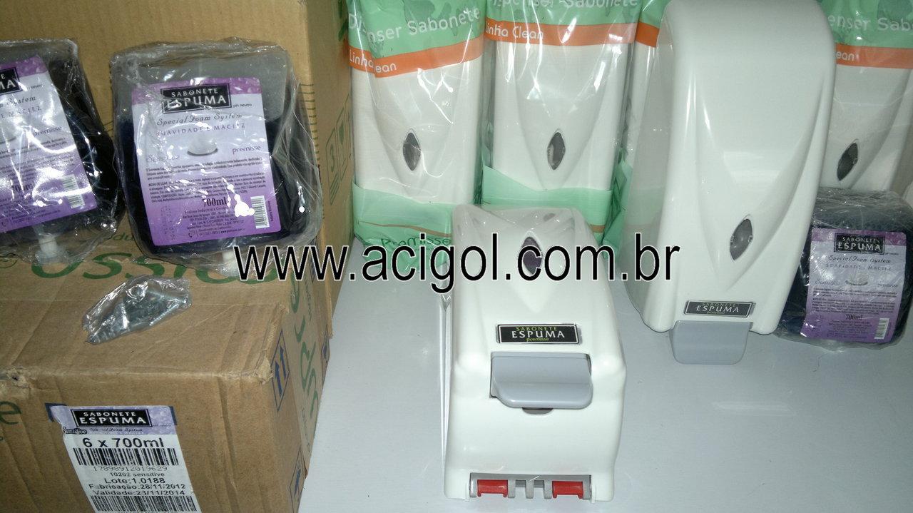 dispenser de sabonete espuma premisse-foto acigol 81 34451782-300120131349