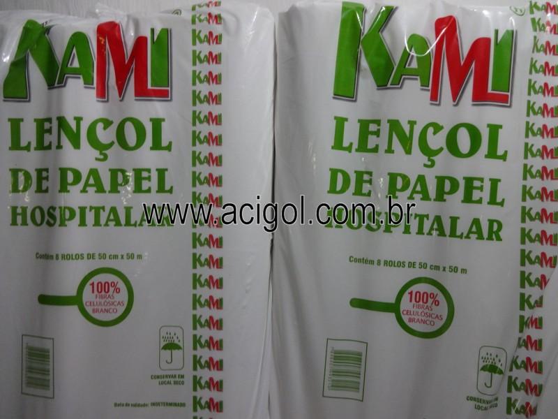 lencol de papel uso hospitalar-foto acigol 81 34451782-DSC01830