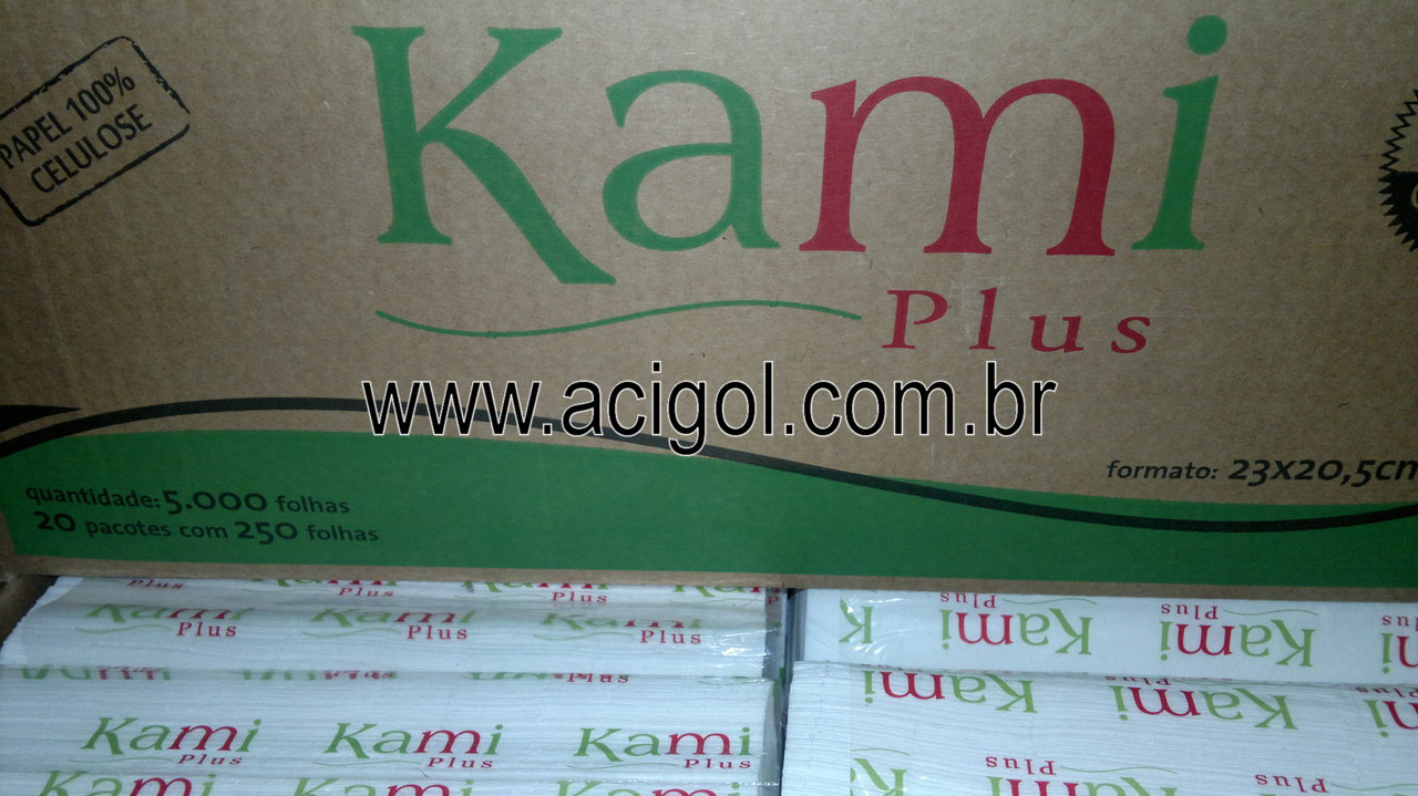 Papel Toalha Kami Plus - Foto Acogol Recife -190620121437