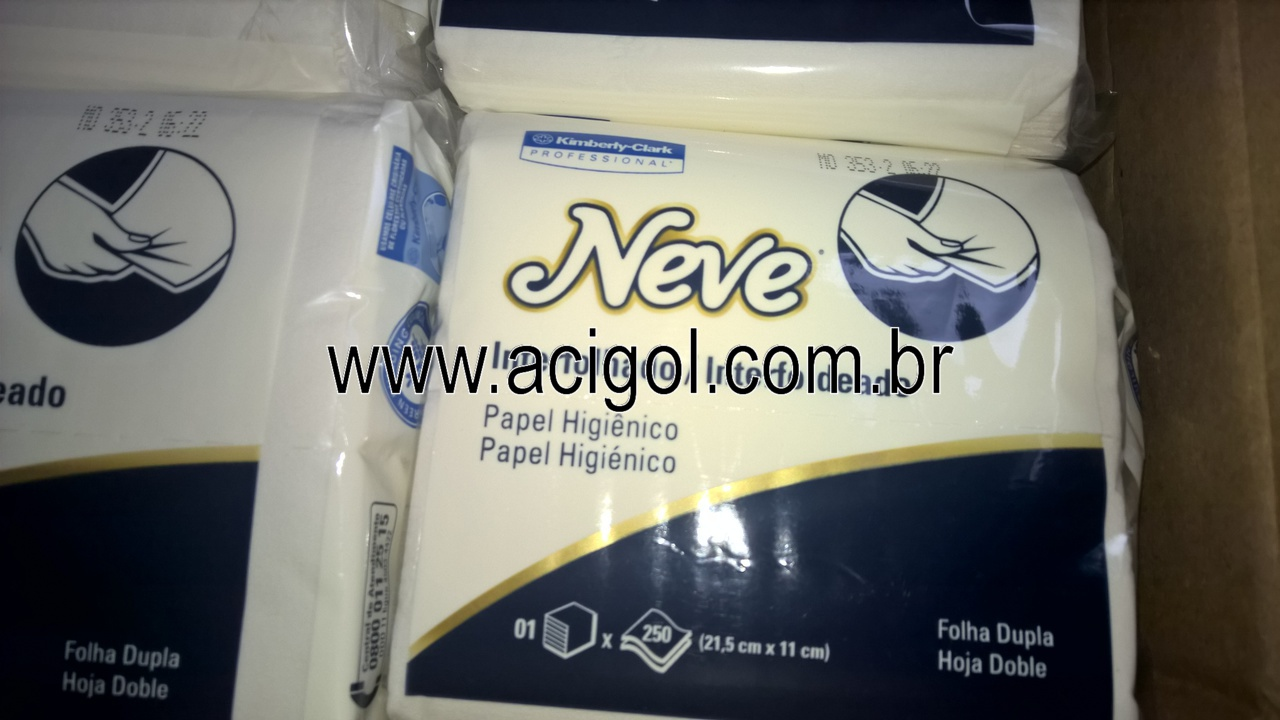 papel higienico neve interfolha folhas dupla pc com 250 fls-foto acigol recife-WP_20160604_14_06_46_Pro