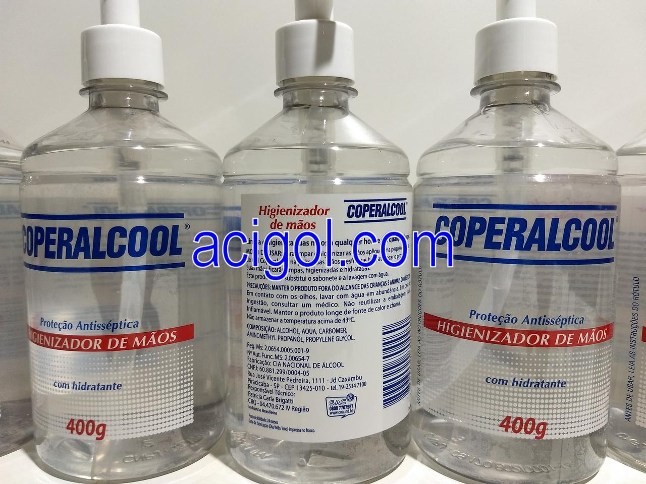 ALCOOL GEL PARA MÃOS COPERALCOOL-ACIGOL 81 32285865-IMG_20171120_224804456