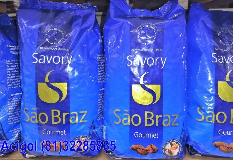 CAFÉ MOIDO SÃO BRAZ EM GRÃO COM 1 KG PARA MAQUINA DE CAFÉ EXPRESSO-ACIGOL 81 32285865-IMG_20180108_143159190