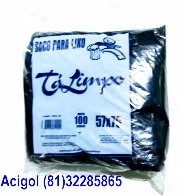 SACO DE LIXO TALIMPO PACOTE COM 100 SACOS 60 LITROS PRETO-ACIGOL 81 32285865-IMG_20180117_232655872