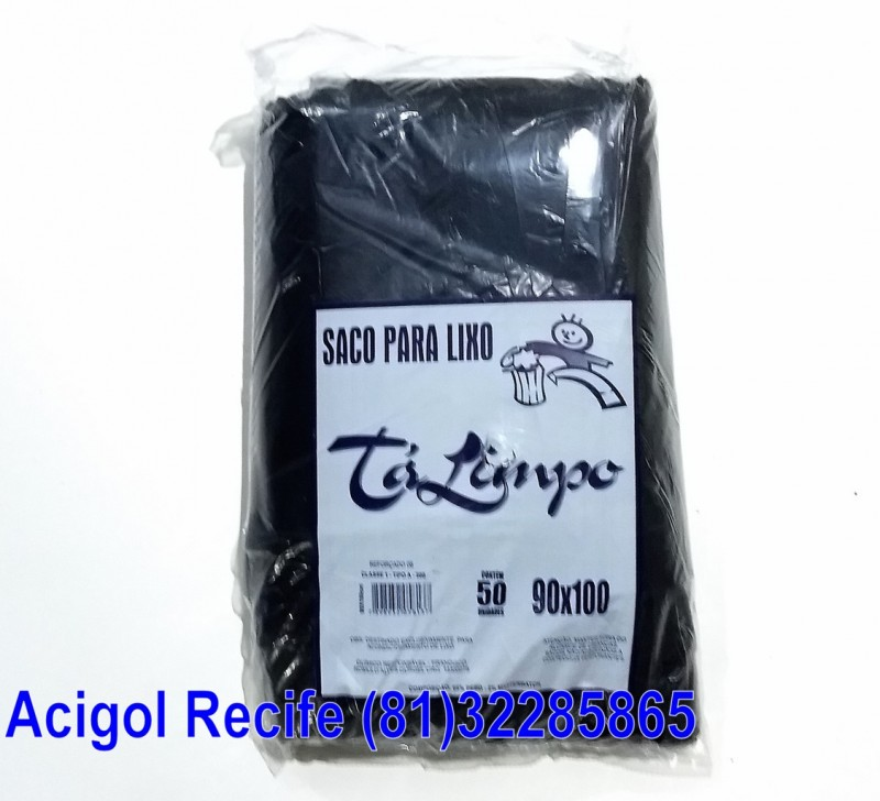 SACO LIXO TALIMPO 100 LITROS PRETO-ACIGOL 81 32285865-IMG_20180117_232328707