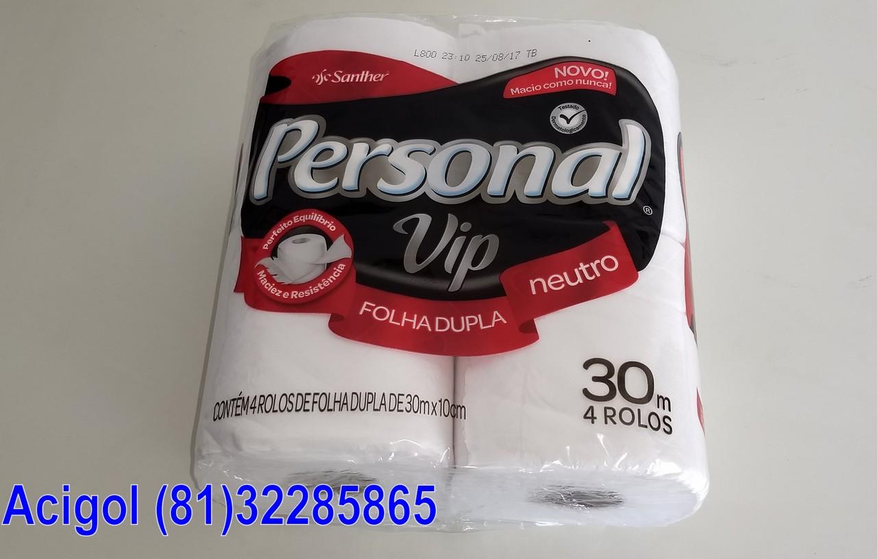 PAPEL HIGIENICO PERSONAL VIP 4X30M FOLHAS DUPLA-ACIGOL 81 32285865-IMG_20180107_134849755