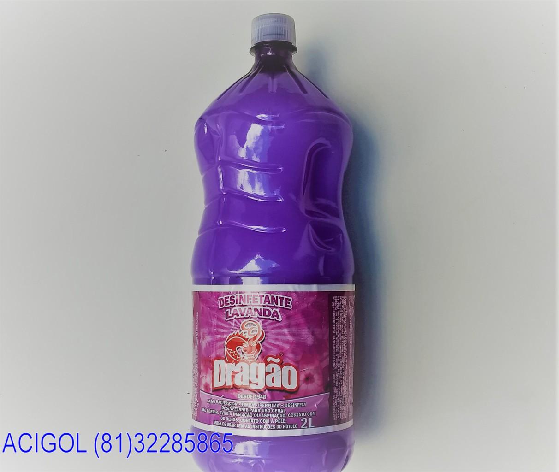 desinfetante lavanda dragão com 2 litros-acigol 81 32285865-IMG_20180513_134507826