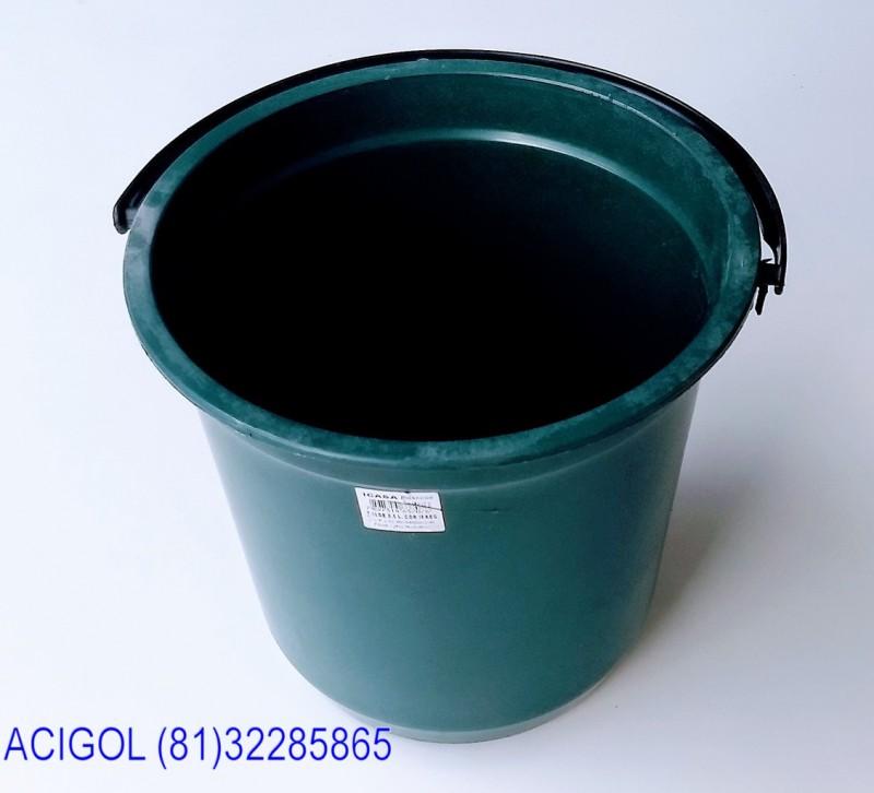 BALDE PLASTICO 8 LITROS COM ARO-ACIGOL RECIFE 81 32285865-IMG_20180608_144131417