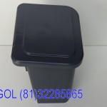 Lixeira CINZA com pedal 25 lt PP profesional-Acigol Recife 81 32285865-IMG_20180813_101815912