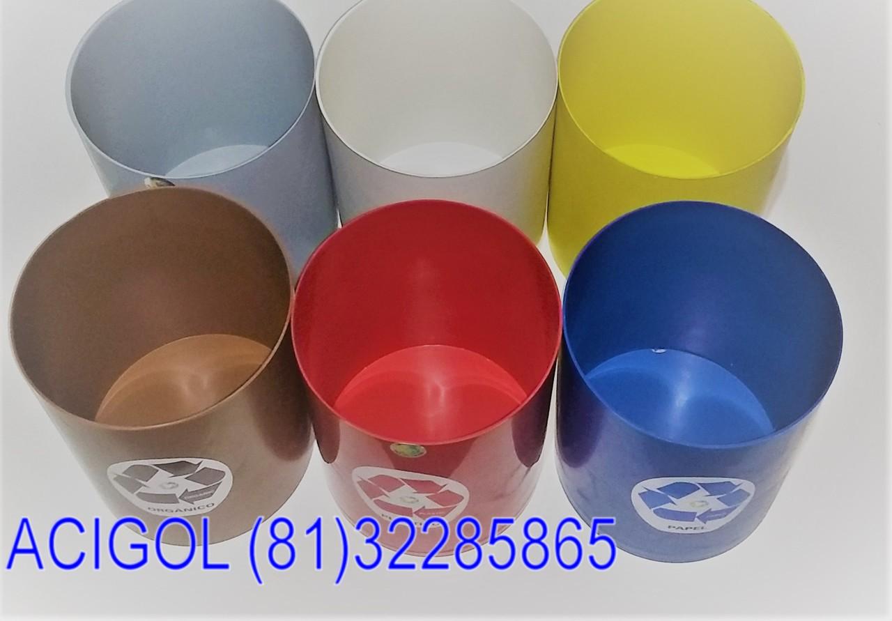 Lixeira seletiva 12 LITROS 8 cores profesional-Acigol Recife 81 32285865IMG_20180813_194529187