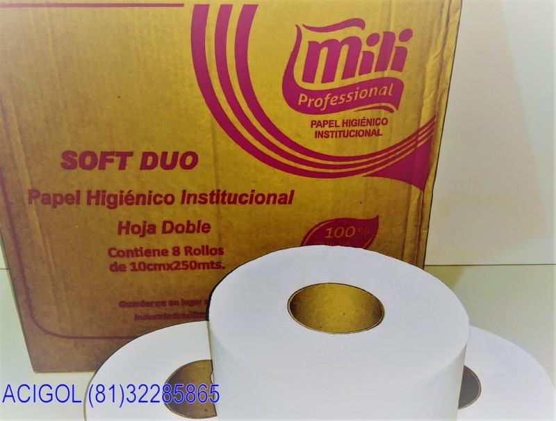 PAPEL HIGIENICO BIG ROLL FOLHAS DUPLAS MILI PROFESSIONAL-ACIGOL RECIFE 81 32285865-IMG_20180805_200313944