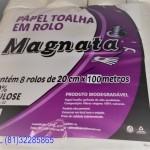 PAPEL TOALHA EM ROLO 8X100 METROS-ACIGOL RECIFE 81 32285865IMG_20180809_001142184