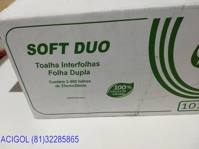 PAPEL TOALHA INTERFOLHAS 2400 FOLHAS DUPLAS MILI PROFESSIONAL-ACIGOL RECIFE 81 32285865-IMG_20180805_204906804