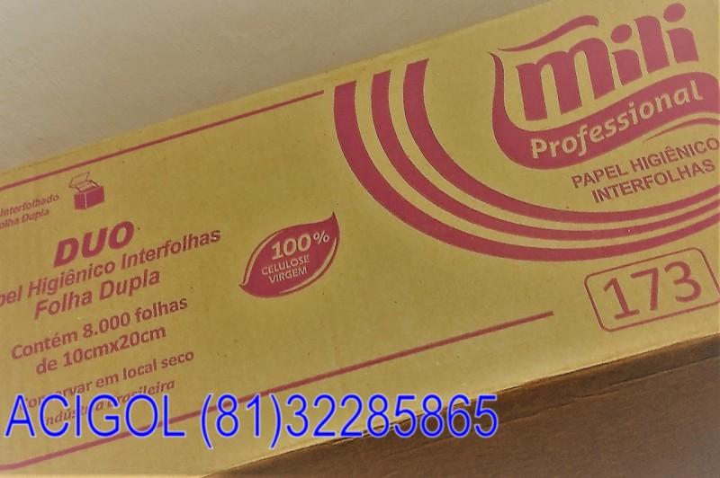 Papel higienico milli duo com 8.000 folhas duplas-acigol8132285865-IMG_20181122_191333509