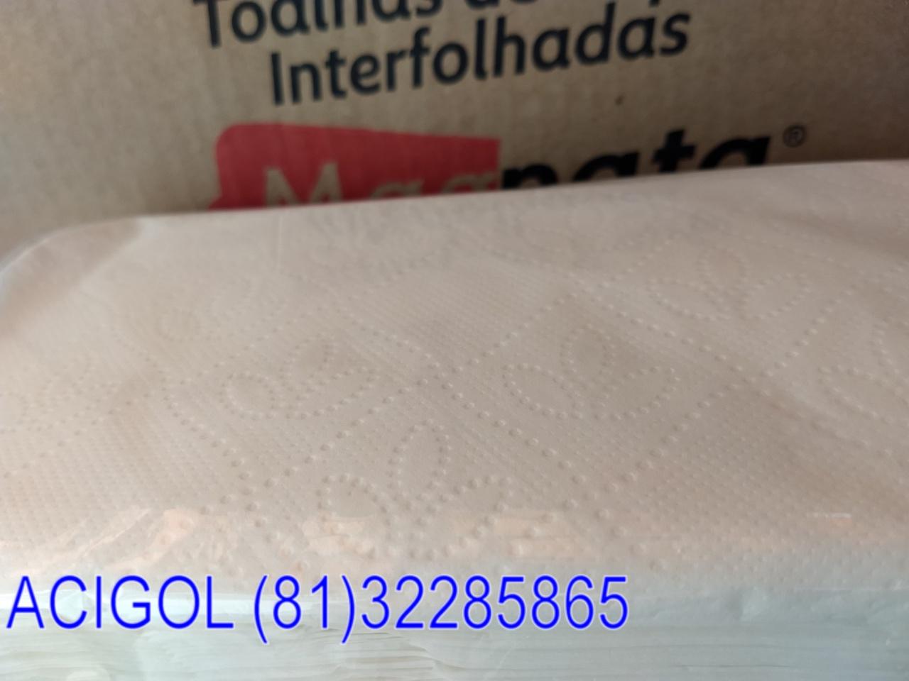 PAPEL TOALHA INTERFOLHA MAGNATA 2400 FOLHAS DOLHAS-ACIGOL RECIFE 81 32285865-IMG_20181214_085433173