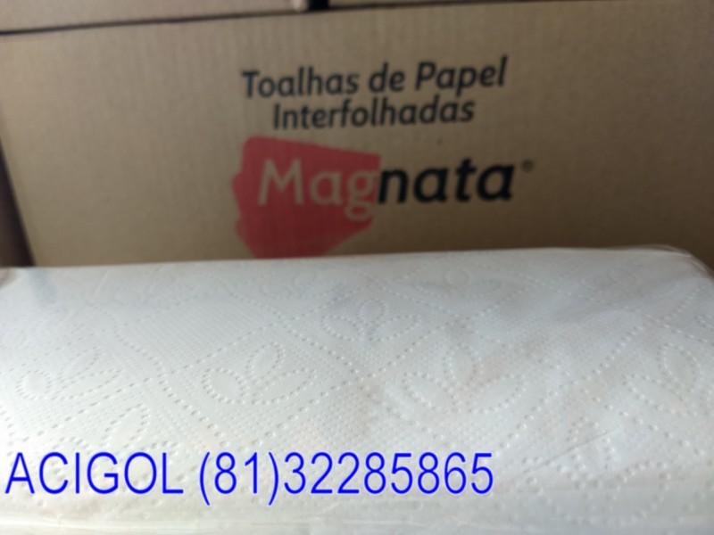 PAPEL TOALHA INTERFOLHA MAGNATA 2400 FOLHAS DOLHAS-ACIGOL RECIFE 81 32285865-IMG_20181214_085348913