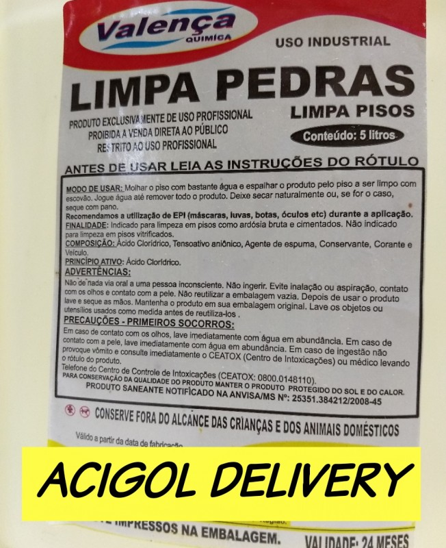 LIMPA PEDRAS PISOS E AZULEJOS COM 5 LITROS-ACIGOL RECIFE 81 32285865-IMG_20190907_234016_