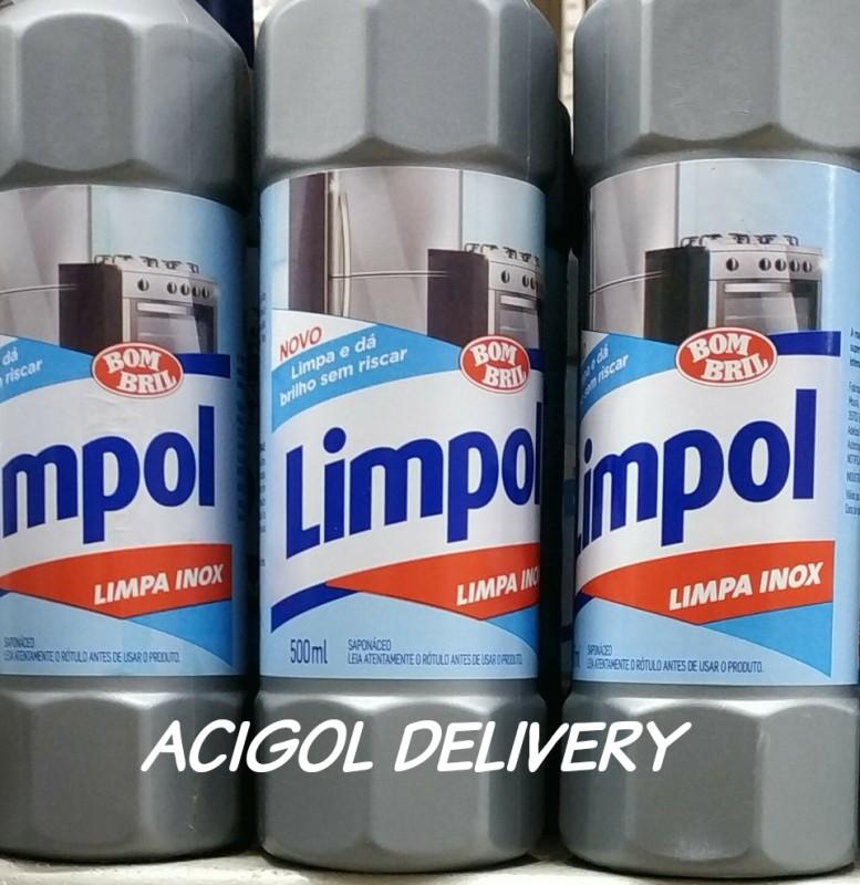 LIMPA INOX LIMPOL 500 ML-ACIGOL DELIVERY 81 32285865-IMG_20191005_215202_