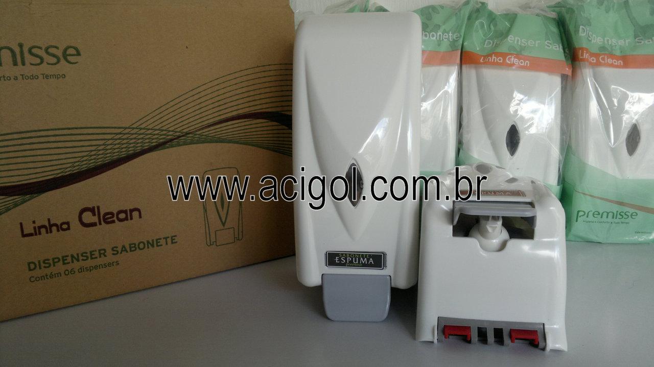 dispenser de sabonete espuma premisse-foto acigol 81 34451782-300120131337