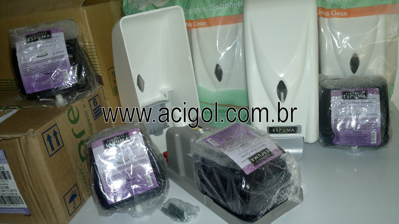 dispenser de sabonete espuma premisse-foto acigol 81 34451782-300120131344