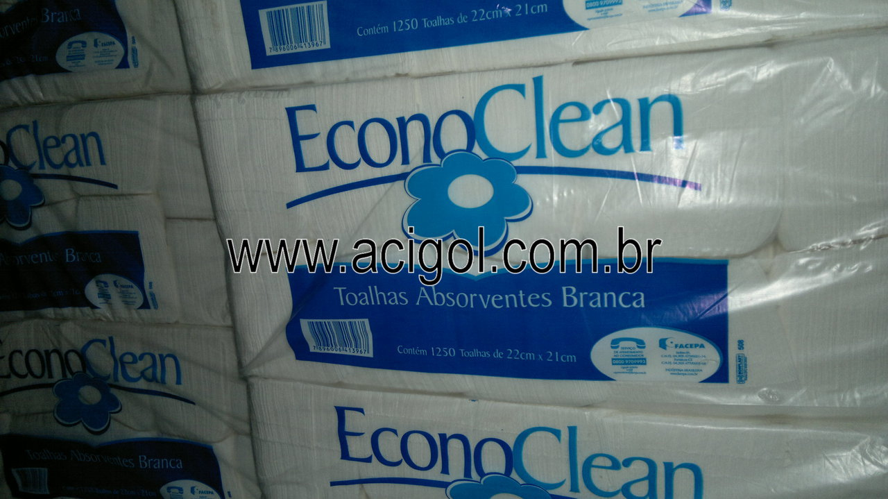 papel toalha aborvente Econoclean-foto acigol 81 34451782-140920133042