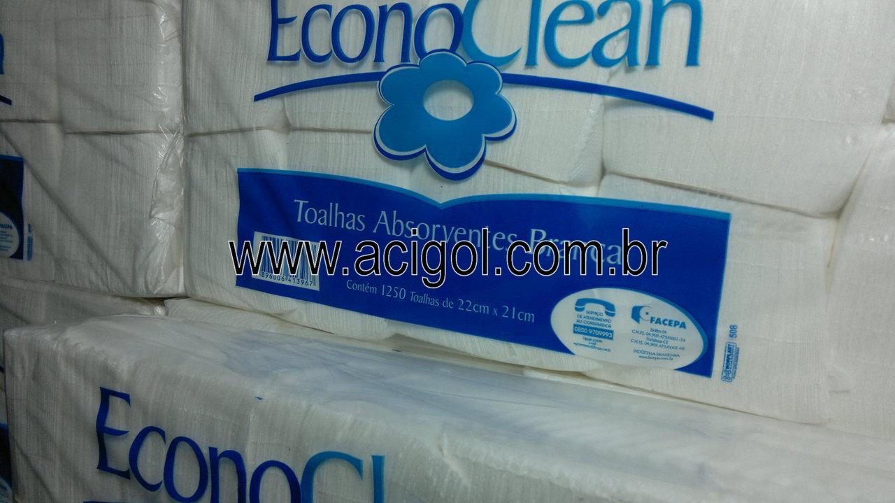 papel toalha aborvente Econoclean-foto acigol 81 34451782-140920133072