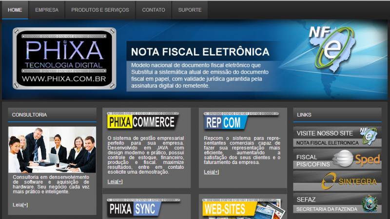 Acigol usa o Phixa Commerce