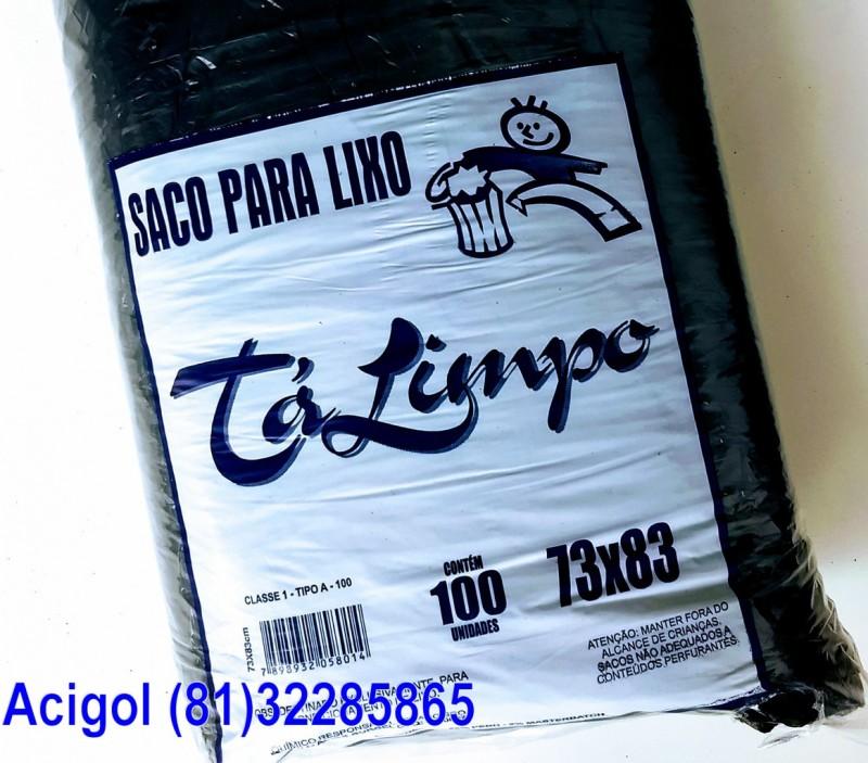 SACO LIXO TALIMPO 100 LITROS PRETO-ACIGOL 81 32285865-IMG_20180118_083459271
