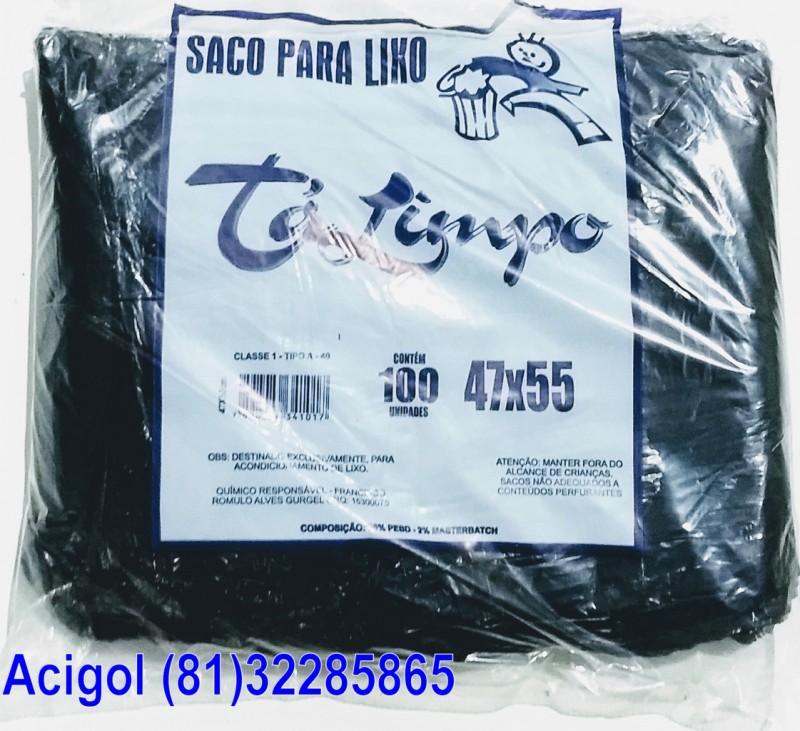 SACO LIXO TALIMPO 40 LITROS PRETO-ACIGOL 81 32285865-IMG_20180117_232533261