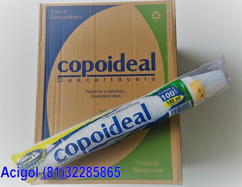 COPO DESCARTAVEL 180 ML COPOIDEAL-ACIGOL RECIF (81)32285865-IMG_20180218_123415150