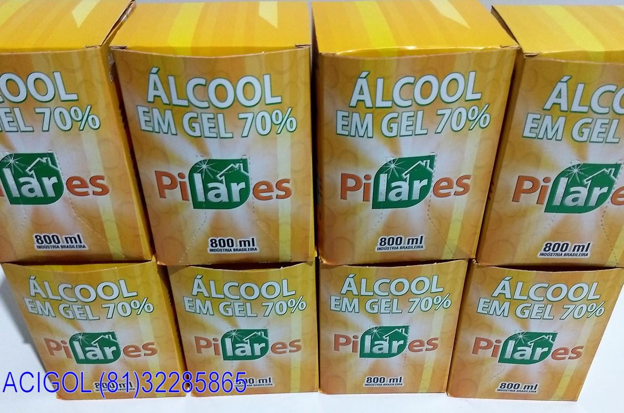 ALCOOL EM GEL PILARES C800 ML-ACIGOL RECIFE 81 32285865-IMG_20171120_212750161