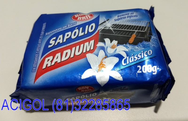 SAPOLIO RADIUM PEDRA 200GE-ACIGOL RECIFE 81 32285865-IMG_20181117_215113232
