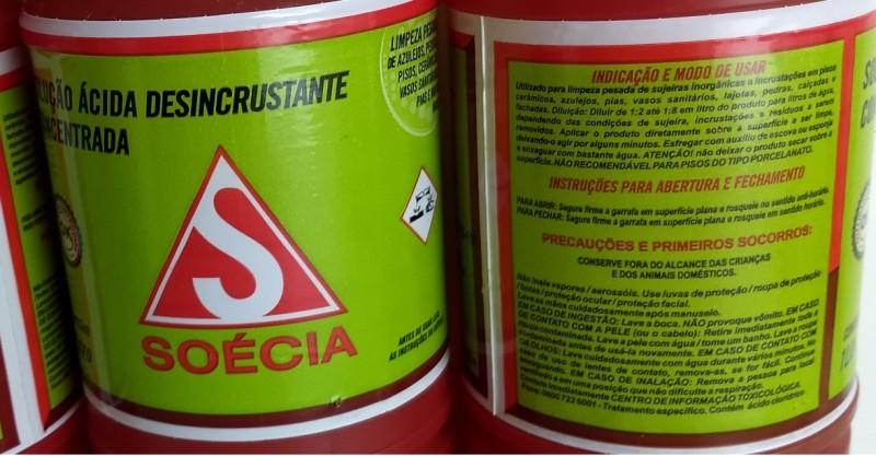 LIMPA PEDRA SOECIA-DESINCRUSTANTE ACIDO-ACIGOL DELIVERY 81 32285865-1244280819