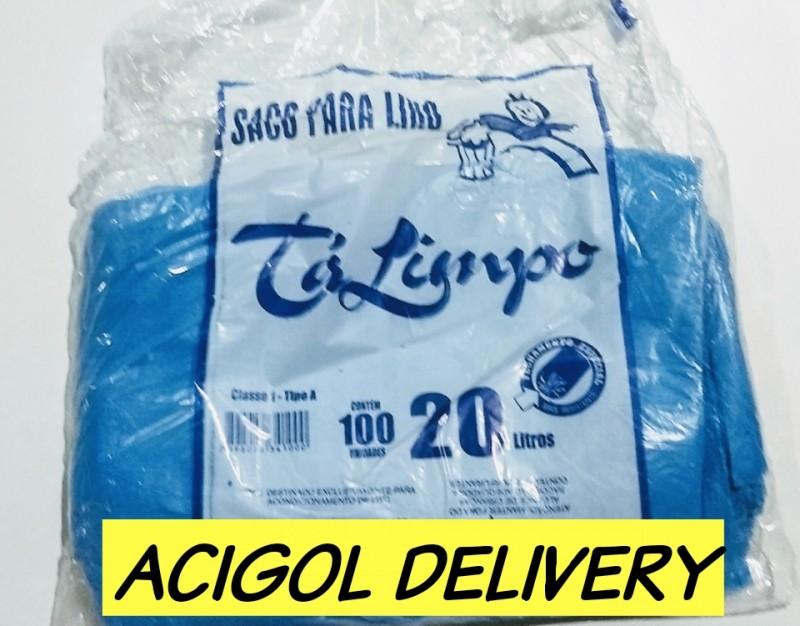 SACO PARA LIXO TALIMPO AZUL 20 LITROS-ACIGOL RECIFE 81 32285865-IMG_20190804_192442_