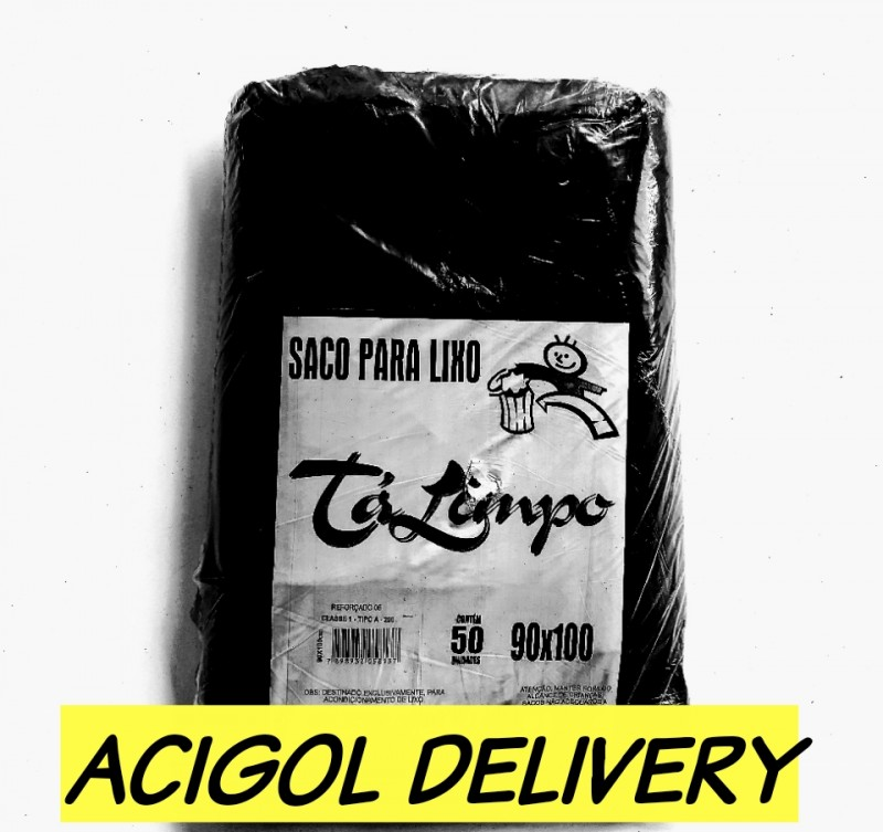 SACO PARA LIXO TALIMPO PRETO 200 LITROS-ACIGOL RECIFE 81 32285865-IMG_20190804_191505_