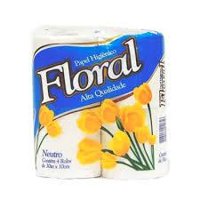 papel higienico floral r tolos x 30 m