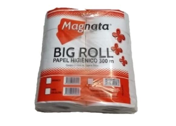 PAPEL HIGIENICO INSTITUCIONAL MAGNATA 100 CELULOSE 8X300-ACIGOL RECIFE 81 32285865