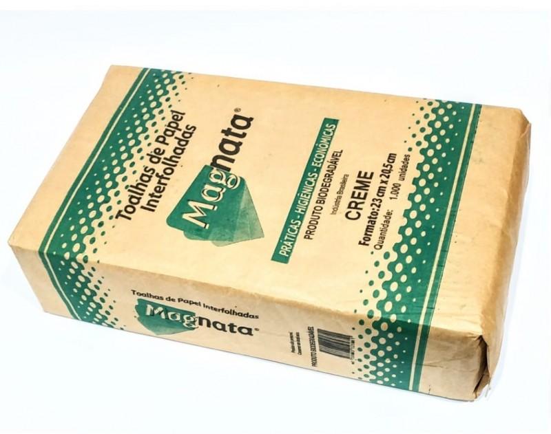 PAPEL TOALHA CREME MAGNATA 230X225MM COM 1000 FS-ACIGOL 81 32285865