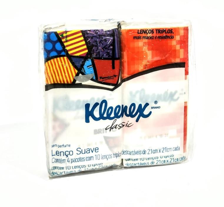 LENÇOS KLEENEX CLASSIC COM 4X10X21CM X 21CM - ACIGOL 81 32285865