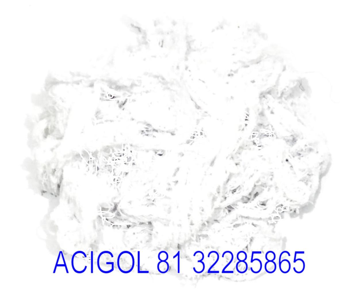 ESTOPAC DE MALHA BRANCA PARA POLIMENTO FARDO COM 10 KG - ACIGOL 81 32285865