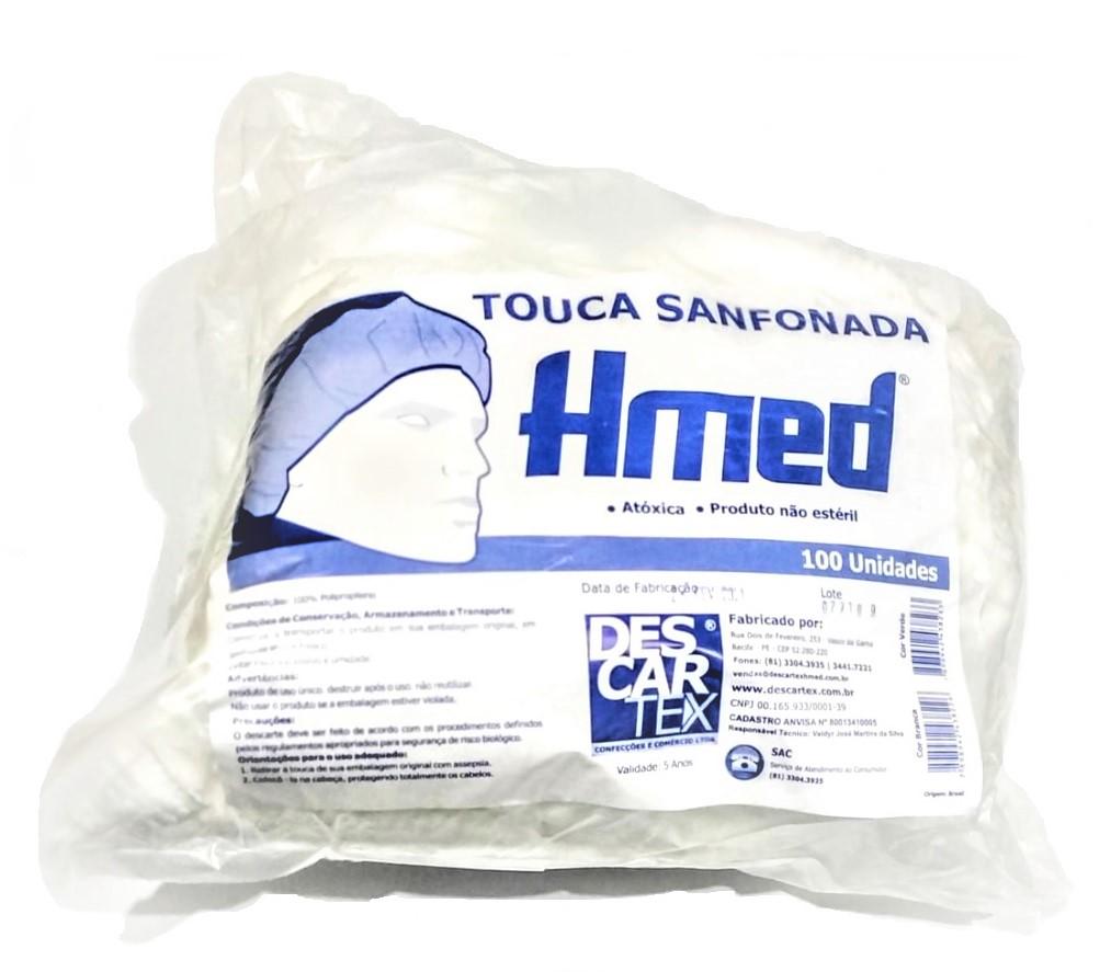 TOUCA SANFONADA HMED DESCARTEX PCTE COM 100 UNIDADES - ACIGOL 81 32285865