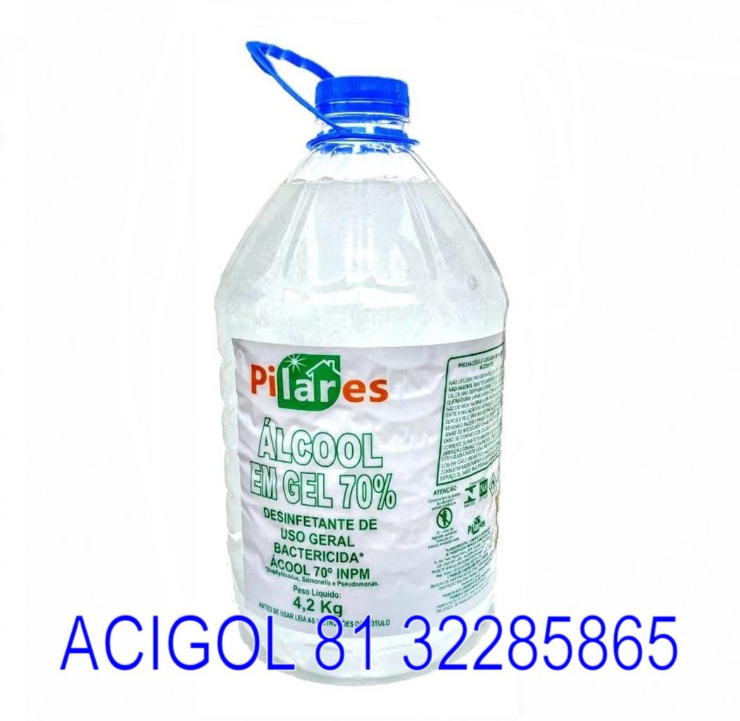 ALCOOL GEL PILARES 70INCM - ACIGOL 81 32285865