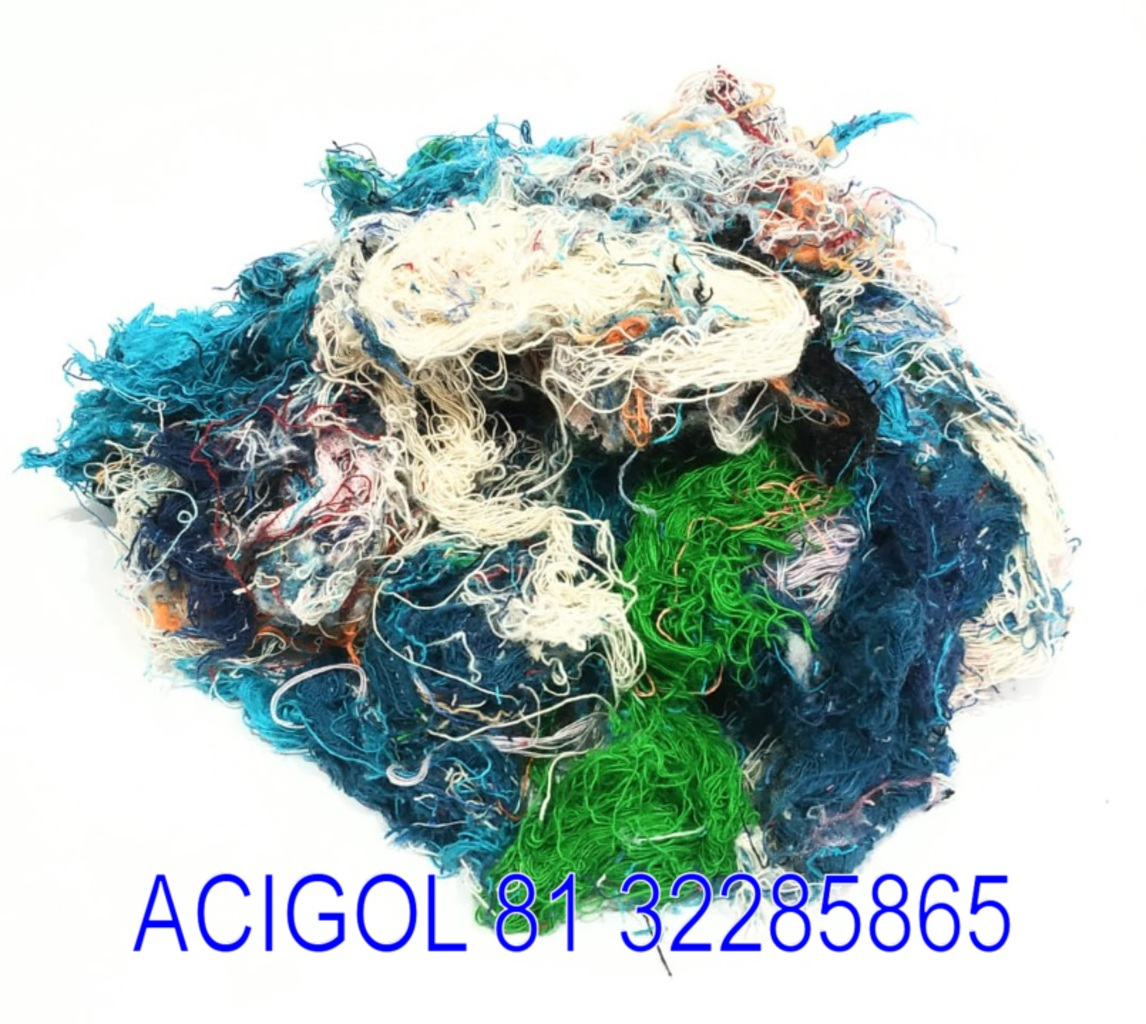 ESTOPA DE ALGODAO COLORIDO FARDO COM 50 KG - ACIGOL 81 32285865
