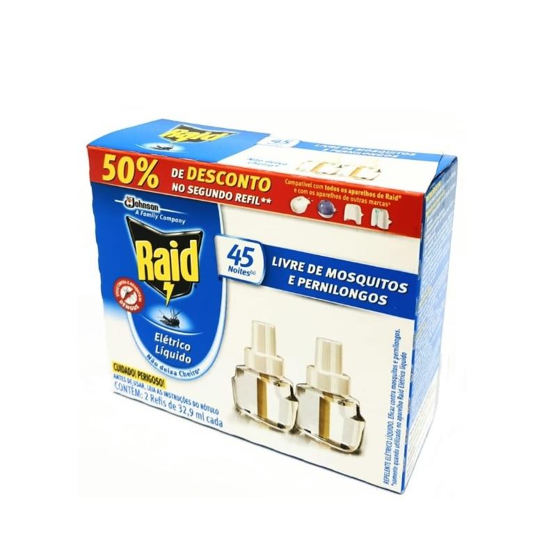 INSETICIDA RAID ELETRICO CAIXA COM 2 REFIS PROMOCIONAL - ACIGOL 81 32285865
