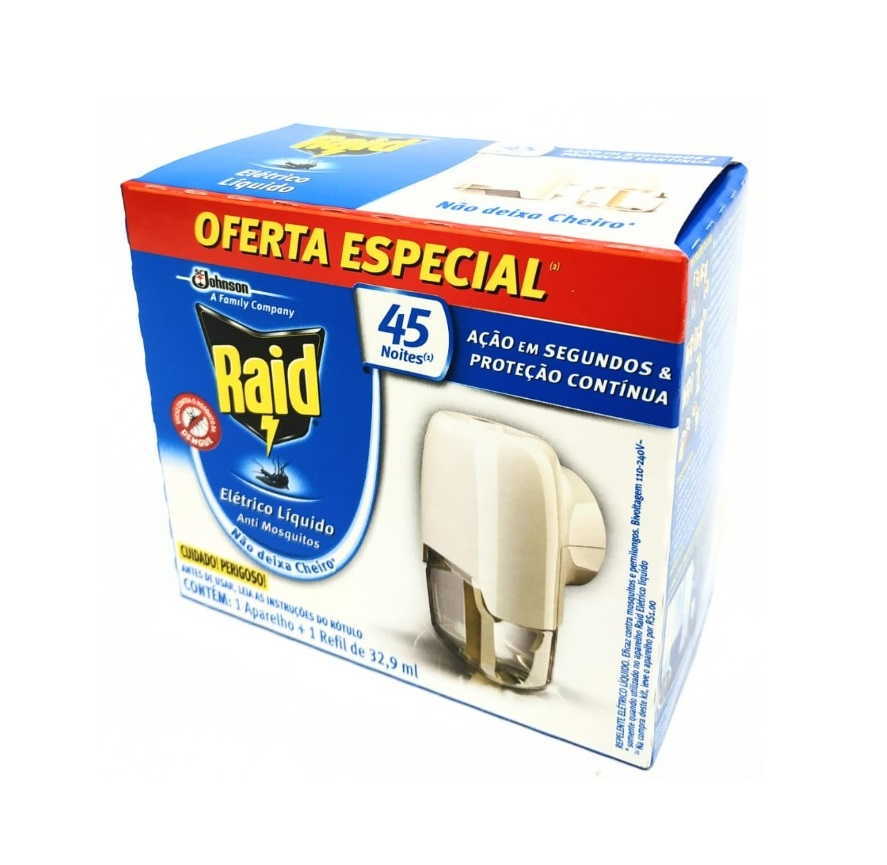 RAID ELETRICO PROTEÇÃO CONTINUA COM REFIL - ACIGOL 81 32285865